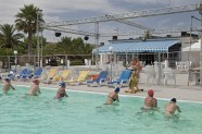 Villaggio Europa spinning in piscina