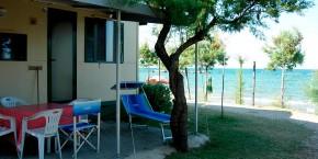 Villaggio Europa esterno Casa Mobile Tipo B