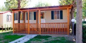 Villaggio Europa esterno Casa Mobile Tipo D 5 posti