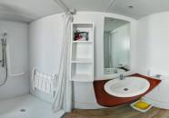 Bagno Casa Mobile Tipo F 6 posti