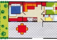 Piantina Villaggio Europa Casa Mobile Tipo B