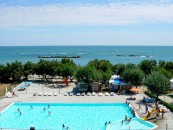 Piscina del Villaggio Europa in Abruzzo